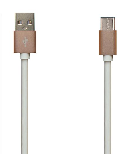 TYPE C USB2.0 铝壳TPE 充电/数据线
