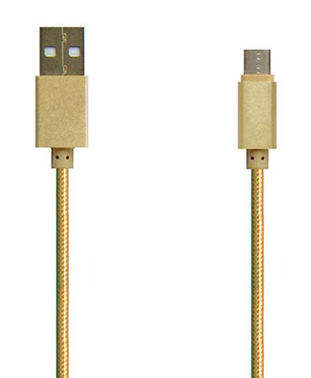 TYPE C USB2.0 铝壳+编织 充电/数据线